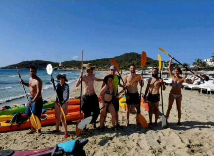Foto de grupo vuelta a Ibiza completada